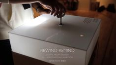 REWIND REMIND Look back into a history of extinct animals by winding a spring  2014 Graduation Exhibition,Digital Media Design, Hong-ik Univ. Project by Digital…