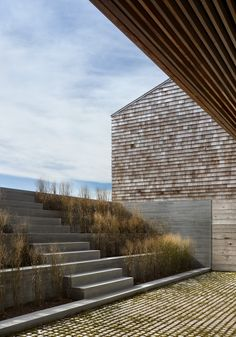 Genius Loci by Bates Masi Architecture is part of Landscape stairs - Surrounded by green pastures in the small seaside community of Montauk, New York lies two Landscape Stairs, Urban Landscape, Landscape Design, Landscape Structure, Architecture Details, Landscape Architecture, Interior Architecture, Installation Architecture, Chinese Architecture
