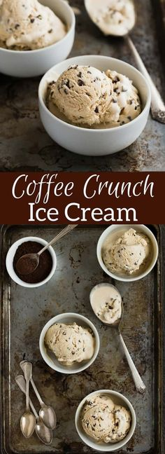 The smoothest ice cream made without an ice cream maker and only 4 ingredients!