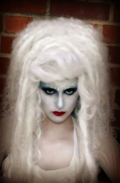 #SnowQueen #AirEnchantress #Hair #Wig #Makeup by Tyson Keanum