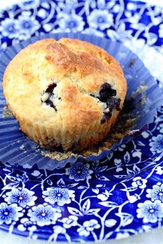 these are so good, they are wrong. I used fat free ricotta, cut down the sugar, and used frozen wild boreal blueberries that I thawed and rinsed. Oh, and didnt have lemon. I think the lemon would be awesome though too. Sooo yum hard to have one! -HG