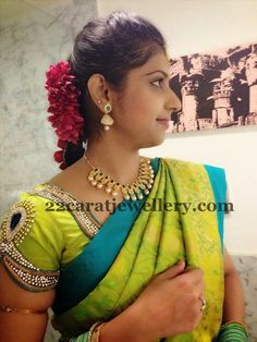 Bride in Uncut Set and Chandra Haram