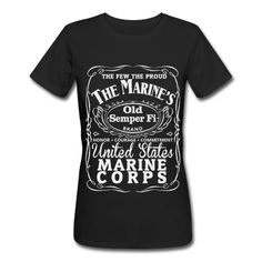 USMC Jack Daniels Old #7 T-Shirt | Spreadshirt | ID: 12689421