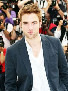 Robert Pattinson. I am so in love with him. I swear he fell straight from heaven. Geez
