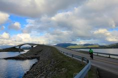 Bike touring along the Atlantic Road in Norway I @SatuVW I Destination Unknown