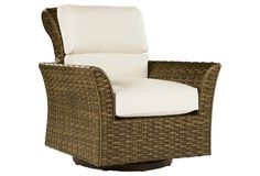 Cameroon Swivel Glider Lounge Chair