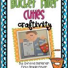 """Are you a Bucket Filler? Get your kiddos ready to """"fill some buckets"""" with this cute lil craftivity. The perfect addition to your """"Bucket Filler"""" s..."""