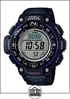Casio SGW-1000-1AER - Reloj con correa de acero para hombre, color negro / gris de  ✿ Relojes para hombre - (Gama media/alta) ✿