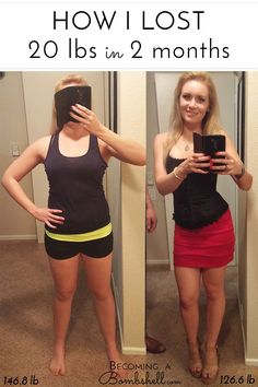 How I lost 20 lbs in 2 months!  Losing 20 lbs in 2 months.