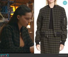 Wool Bomber Jacket, 13 Reasons, Other Outfits, Blazer, Tv, Jackets, Clothes, Style, Fashion