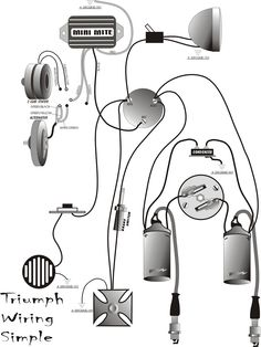 wiring diagram for triumph bsa boyer ignition motorcycle wiring system on a triumph 650