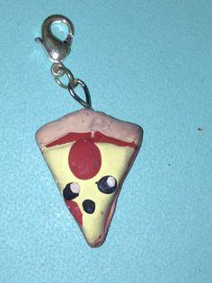 Pizza charm I made!
