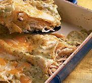 Chicken Enchiladas with Salsa Verde Recipe | MyRecipes.com