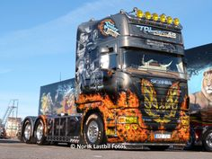 """""""Smokey and the Bandit""""  TDL Entreprenad AB  @ The Nordic Trophy 2013 #Scania"""