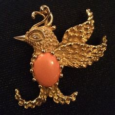 Final Erwin Pearl Lovebird Pendant or Brooch Stunning! This piece just pops! Perfect for Mother's Day! Erwin Pearl Jewelry Brooches