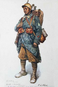 Les troupes coloniales en Rhénanie |  RAVALO, Ankerakely, Tananarive 1er régiment de tirailleurs malgaches, E.V. le 3 déc. 1919 Friesenheim, avril 1919