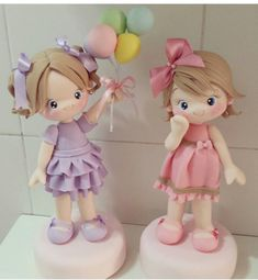Fine Porcelain China Diane Japan Value Polymer Clay Figures, Polymer Clay Dolls, Clay Projects, Clay Crafts, Cake Topper Tutorial, Clay Baby, Clay Figurine, Fondant Toppers, Clay Ornaments