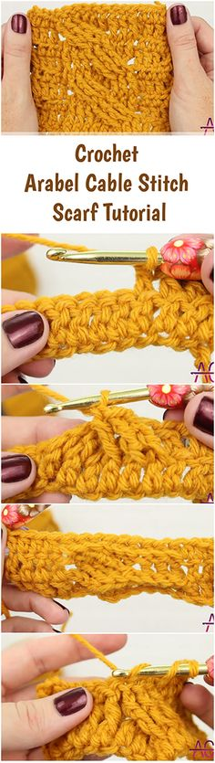 Crochet an Arabel cable stitch scarf by following this step by step, easy and fast tutorial + Quick DIY video guide to make it easier for a beginner! | Free Crochet Tutorials For Beginners | Beginners Crochet VideoTutorials From Youtube | Crochet Stitches | Free Crochet Patterns | Crochet Projects & Ideas | Fast , Simple & Quick Crochet Tutorials | Crochet Blankets |  Beginner Tutorial | Scarves / Scarf For Kids , Men And Women | Infinity Loose & Chunky Scarf DIY | Unique Crochet Crafts…