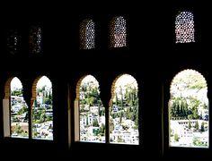 Gypsy Quarter from the Alhambra, Granada, Spain - Espana -  Spanish Photography - Granada - Andalucia