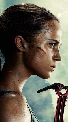 alicia vikander as Lara Croft Tomb Raider Alicia Vikander, Alicia Vikander Lara Croft, Tomb Raider Full Movie, Tomb Raider 2018, Alicia Vikander Movies, Live Action, Tom Raider, Laura Croft, Swedish Actresses