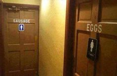 20 Ridiculous and Hilarious Bathroom Signs