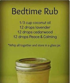 Bedtime Rub for restless legs