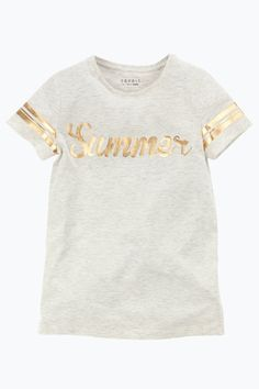 Esprit Kids Top med guldprint