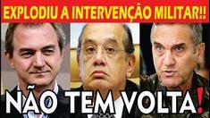 EXPLODIU!! AGORA é pra Valer!! INTERVENÇÃO MILITAR!! Gilmar mendes Receb...