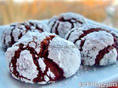 Fursecuri cu ciocolata si esenta de migdale Beignets, Macarons, Biscuit, Muffin, Sweets, Cookies, Breakfast, Cake, Desserts