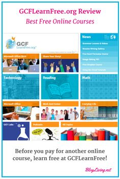 Learn Free at GCFLearnFree.org. The best free online courses at GCFLearnFree focus on technology, reading, and math. Cloud Tutorial, Learn Math Online, Office Free, Local Library, Grammar Lessons, Resume Writing, Online Courses, Better Life, Technology