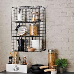 Des casiers de rangement originaux pour la cuisine (Casa)