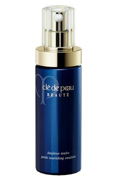 Free shipping and returns on Clé de Peau Beauté Gentle Nourishing Emulsion at Nordstrom.com. A luxurious nighttime emulsion that encourages skin to maximize the effects of natural cell renewal and inspires increased moisture, resilience and glow. Revitalizes skin exposed to daytime environmental stress and helps prevent the premature appearance of visible signs of aging caused by excessive dryness, loss of essential elements or a demanding lifestyle.<br><br>Key ingredients and benefits:<br…