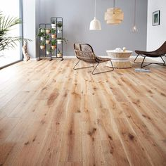 Nothing can quite compare to beautiful solid wood flooring in your home. Solid wood adds warmth and character and looks great with age - often adding to the charm. We catch up with Woodpecker Flooring Solid Wood Flooring, Engineered Wood Floors, Hardwood Floors, White Washed Oak, Cedar Walls, Wood Laminate, Wood Design, Dining Table, Room Decor