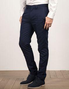 Pantalón traje marino