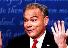 Amateur Interrupter Tim Kaine Crushed By An Unflappable Mike Pence In Last Night