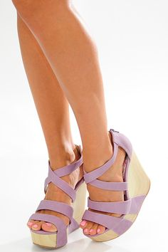 Show Your Colors Wedges: Lavender – Hope's