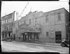 This 1940 photo shows the Colonial Theater on Water Street in downtown Augusta. Old Factory, Arched Windows, My Town, Capital City, The Expanse, Dream Big, Lighthouse, Colonial, Theater