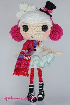 PATTERN: Winter Crochet Amigurumi Doll by epickawaii on Etsy