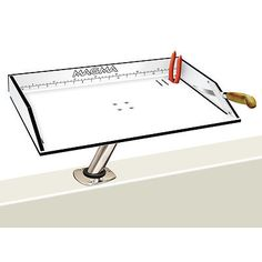 Fillet Tables and Cutting Boards 161823: New Magma Gait/Filet Mate Table T10-312B BUY IT NOW ONLY: $107.8