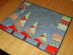 like this as a mini quilt, not placemat