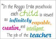 24 Best Reggio quotes images | Reggio, Childhood education ...