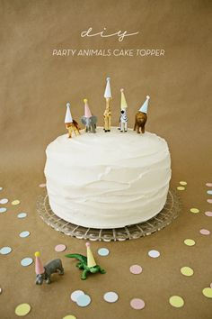 DIY Party Animals Cake Topper - Like The Cheese