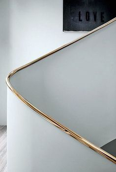 Professionals in staircase design, construction and stairs installation. In addition EeStairs offers design services on stairs and balustrades. Metal Handrails, Stair Handrail, Banisters, Interior Staircase, Staircase Design, Interior Railings, Curved Staircase, Detail Architecture, Interior Architecture