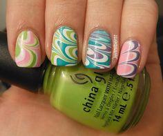 Jennibertt's Nails: Sat-ART-day: 60's Theme