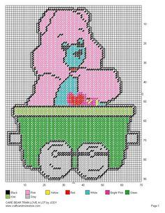 Care Bear Train Set 29