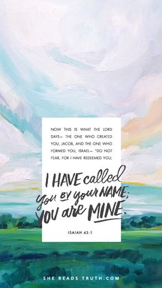 you are mine. with m