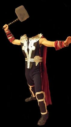 Thor Costume Tutorial Part 3 - Hammer, Cape, Boots, & Belt << pinning now, watching later