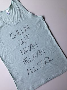 Chillin out | maxin | relaxin | all cool | Fresh Prince | lyrics  by passivejuicemotel on Etsy Fresh Prince, Fashion Beauty, Womens Fashion, Diy Fashion, Fashion Ideas, Style Me, Sweet Style, Dress Me Up, Passion For Fashion