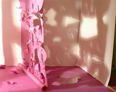 """""""Shadows from Torn Magenta on White"""" 1980 C-print 24 x 30 inches x 76 cm) Magenta, Shadows, Artsy, Tapestry, Artwork, David, Photography, Inspiration, Gallery"""