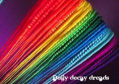 synthetic hair dreads diy